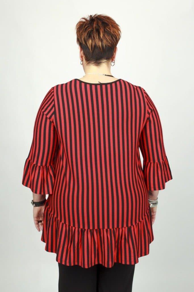 Violetta Red Stripe